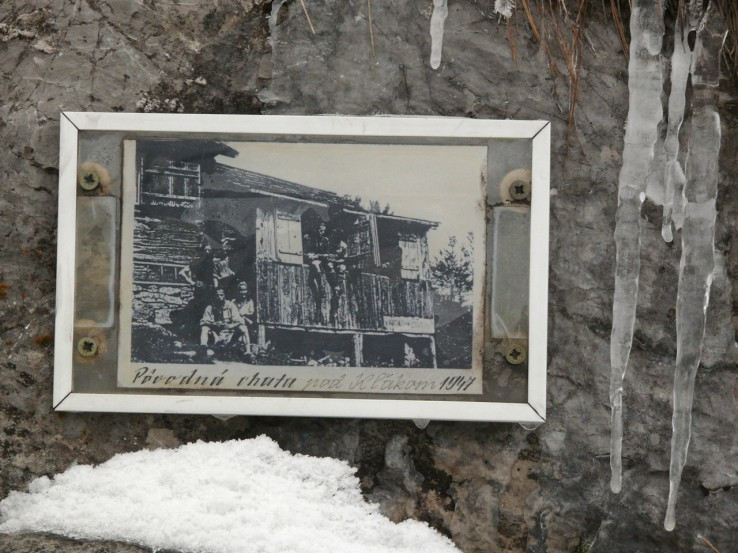 povodna chata pod Klakom 1947