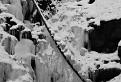 Zima na Turovskom vodopáde.