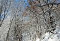 Zima v Štiavnických vrchoch.