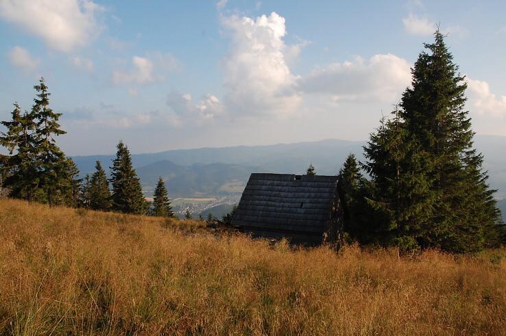 domček nad údolim