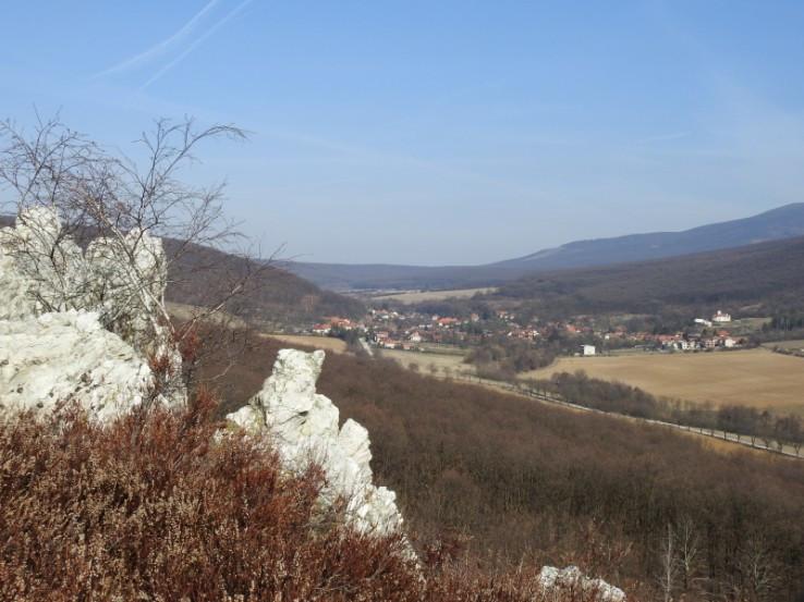 výhľad z Ladickej skaly