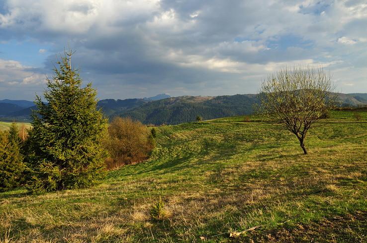 Jar nad bystrickou dolinou