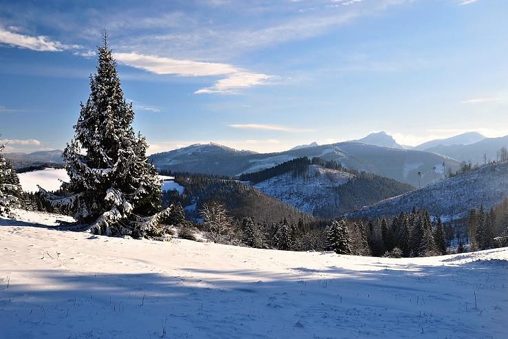 Zima pod Zlieňom II