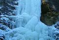 Zamrznutý vodopád