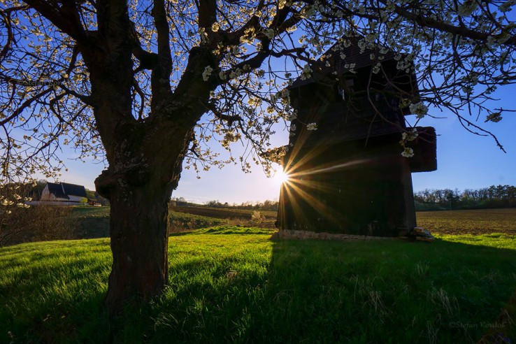 Drevená zvonica v Čeríne