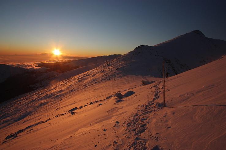 Nízkotatranský západ slnka
