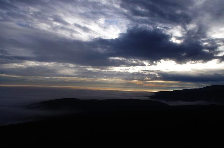Podvečerný výhľad z Kukly