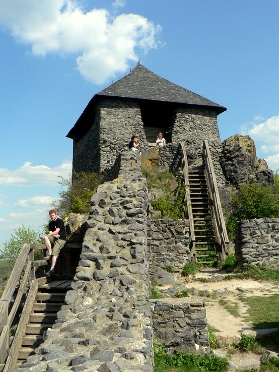 Veža hradu Salgó
