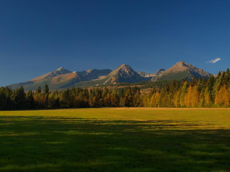 Jeseň pod Tatranskou Štrbou.