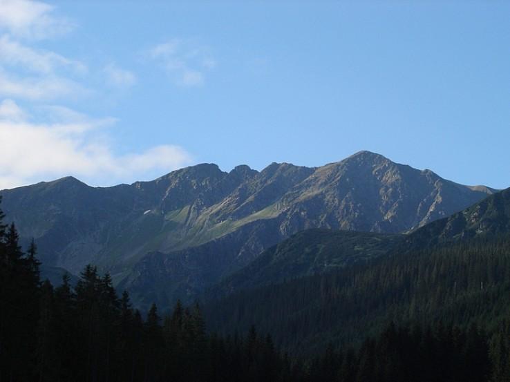 Hlavný hrebeň Západných Tatier