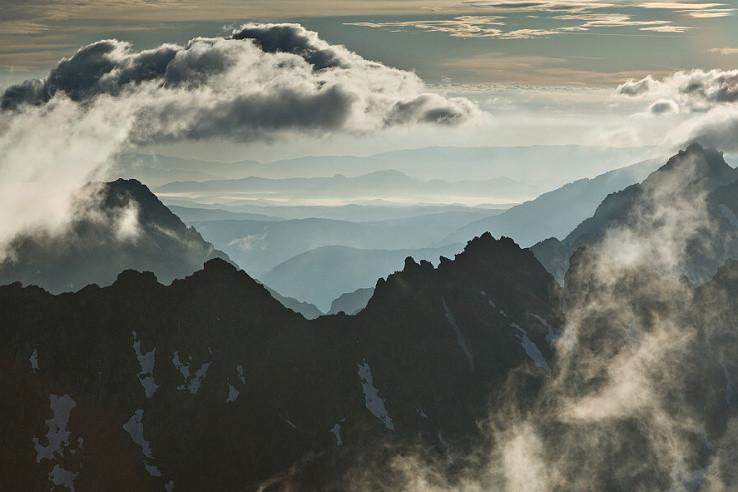 Vychod slnka na Krivani