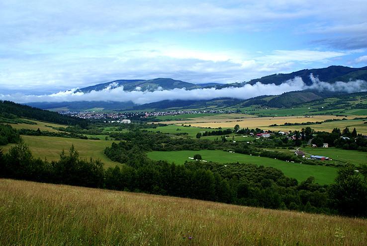Ráno v údolí Hrona