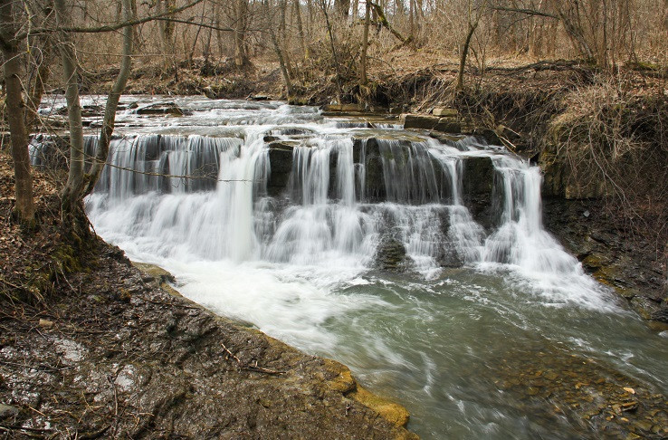 vodopád na Rieke