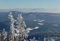 Výhled z Lysé hory.
