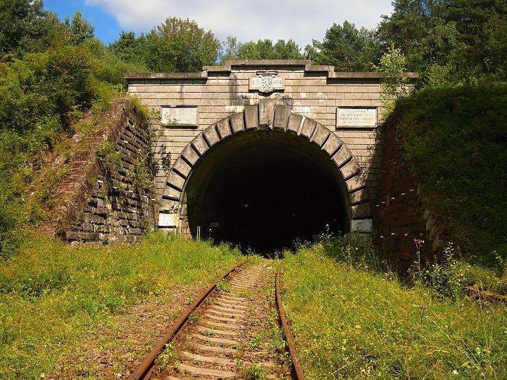 Tunel v Lupkovskom priesmyku.