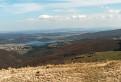 Juhovýchodný výhľad z Jaseňového vrchu