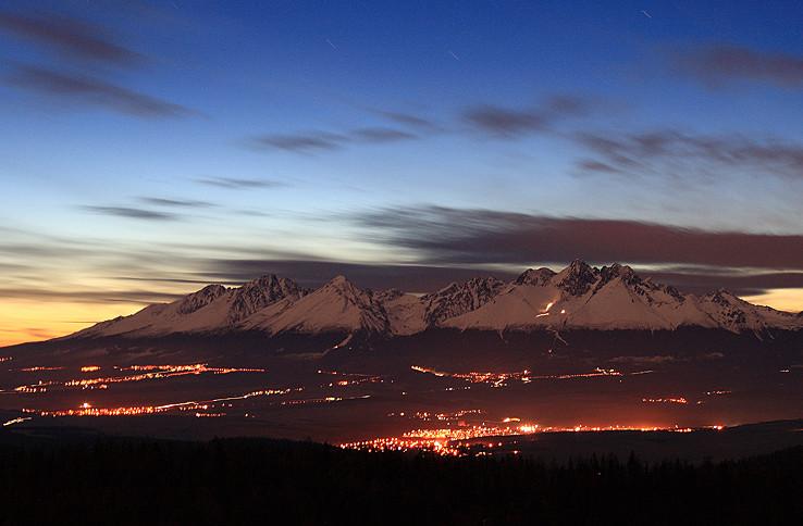 Tatranský súmrak