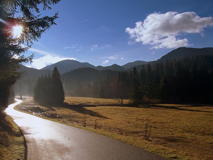 November v Bobroveckej doline