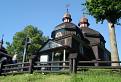 Drevený kostolík Nižný Komárnik.