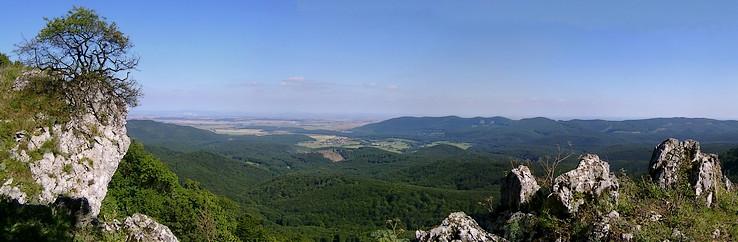 Výhľad z Čiernej skaly