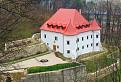 Renesančný kaštieľ v Považskom Podhradí.