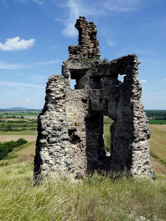 Na hrade Veľký Kamenec