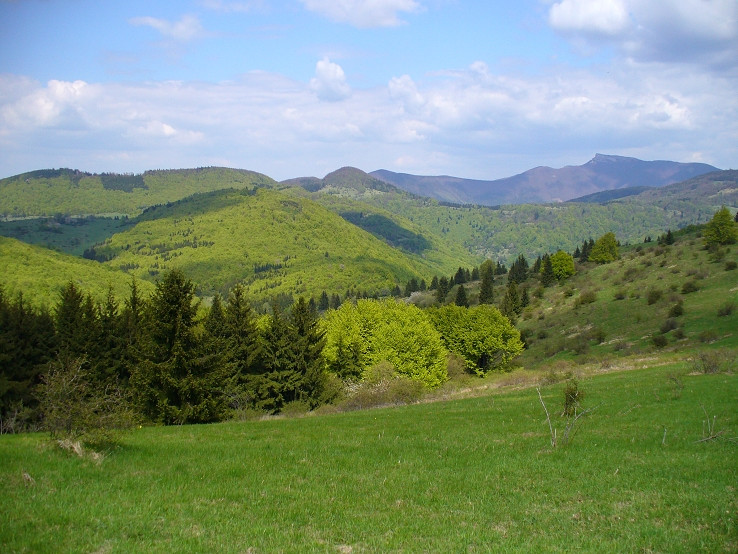 Na hrebeni Javoriny