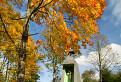 Jeseň pri zvonici