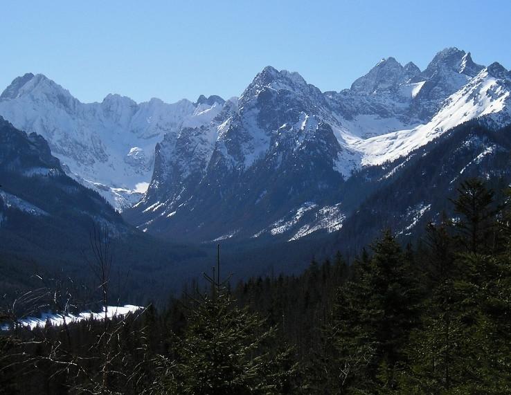 Tatranské štíty zo severu