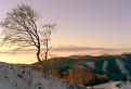 Čergov- pohľad z vrcholu Lysá