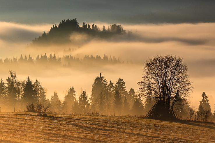 Ranné hmly a prvé lúče