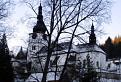Špania Dolina kostol z námestia,alebo ako hovoria domáci z pľacu