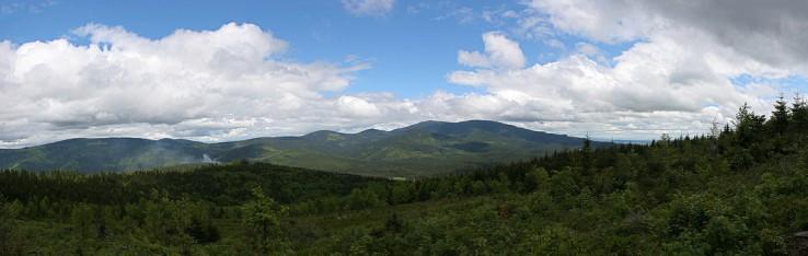 Panorama z hranici