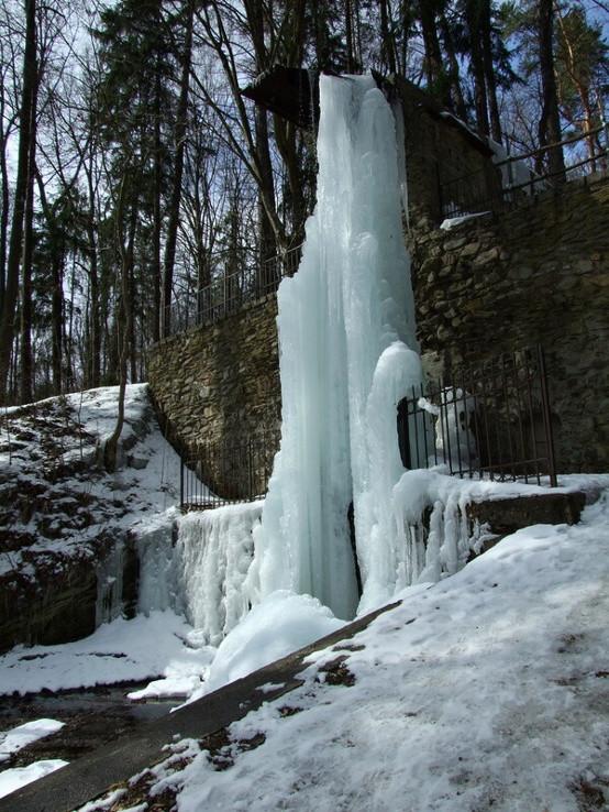 Betliarsky vodopád/ľadopád/