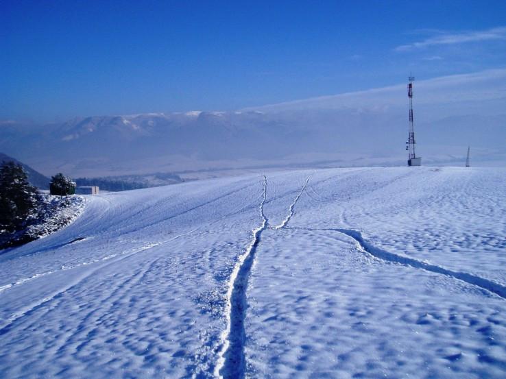 Túlačky Strážovskými vrchmi