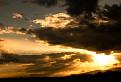 Západ slnka nad Vihorlatskými vrchmi