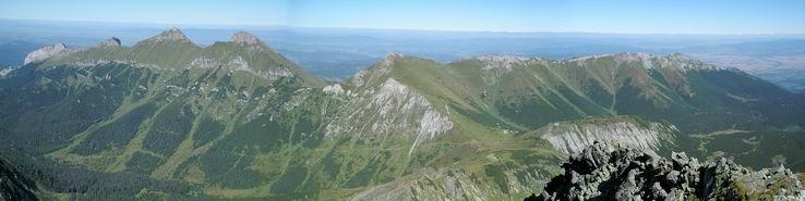 Panoráma Belianskych Tatier