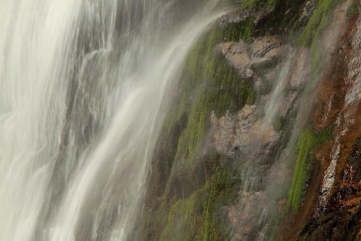 Osvieženie pri vodopáde