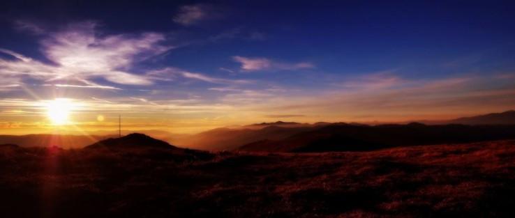 Západ slnka - Orlová