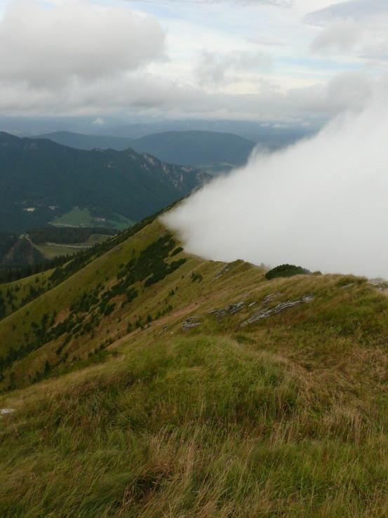 Hmla na hrebeni