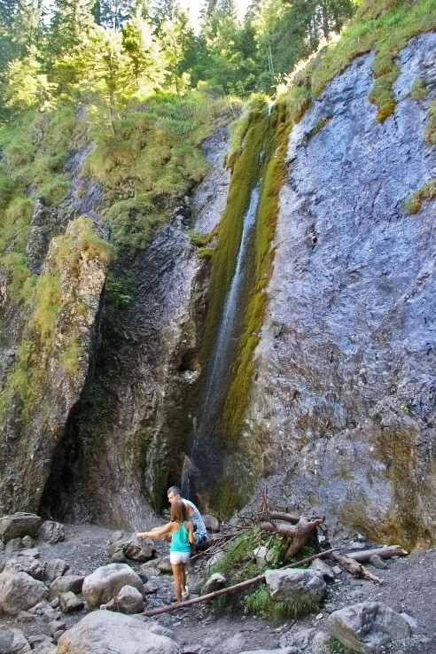 vodopád Wodospad Siklawica