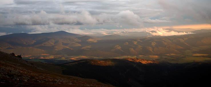 Muránska planina po búrke