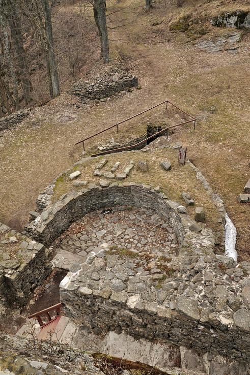 Sitniansky hrad zhora