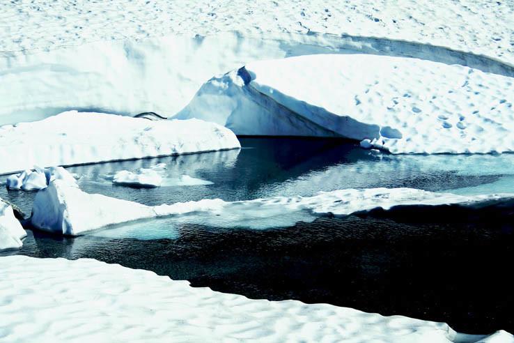 Ľadovec pri Piatich spišských plesách
