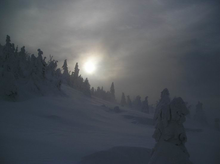 Zima na Veľkom Choči III.