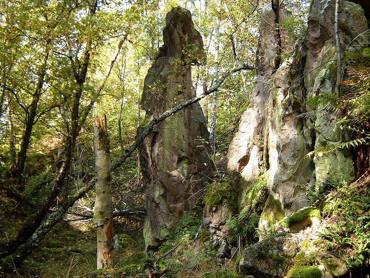 Ryolitová skalná ihla
