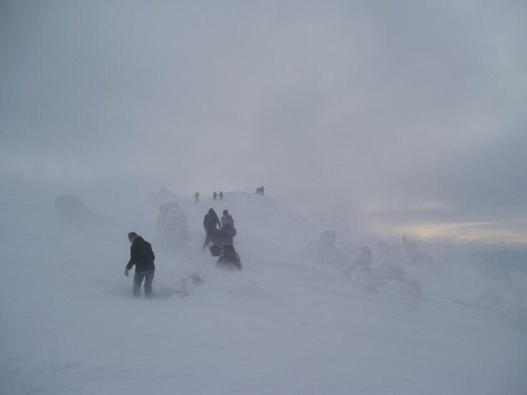 Zima na Veľkom Choči V.