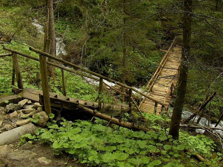 Cez Skalnatý potok