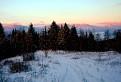 Nízke Tatry po západe slnka
