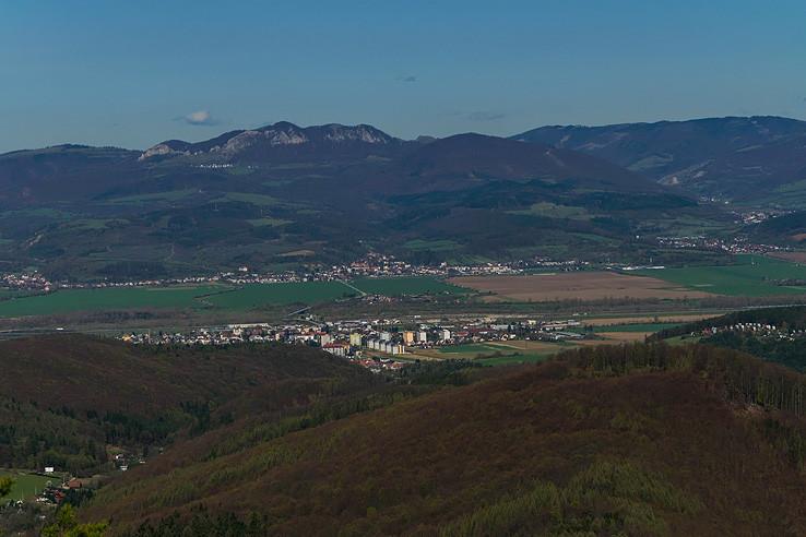 výhľad z Vlčinca II.